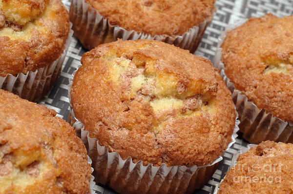Photograph - Cinnamon Crunch Muffins 3 by Andee Design