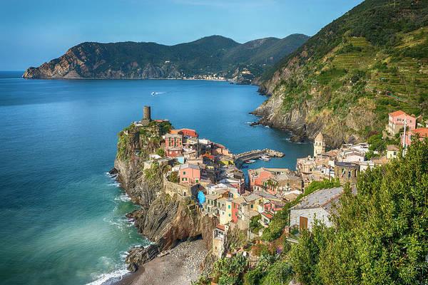 Vernazza Photograph - Cinque Terre Landscape by Fancy Yan