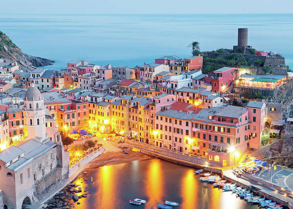 Vernazza Photograph - Cinque Terre by Monica And Michael Sweet