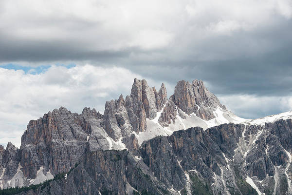 Wall Art - Photograph - Cinque Torri Area In The Dolomites by Marcos Ferro