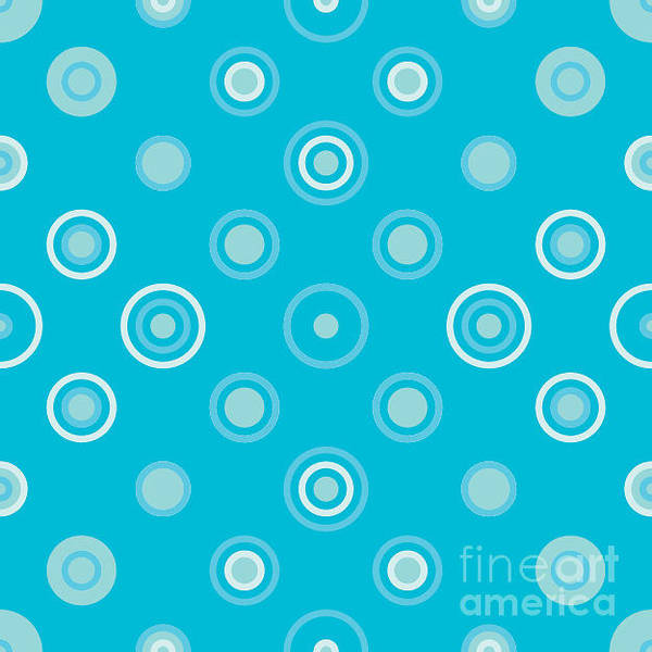 Effect Digital Art - Circle Abstract Pattern.halftone Dotted by Miloje