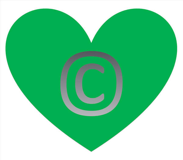 Digital Art - Circle C Green by Catherine Lott