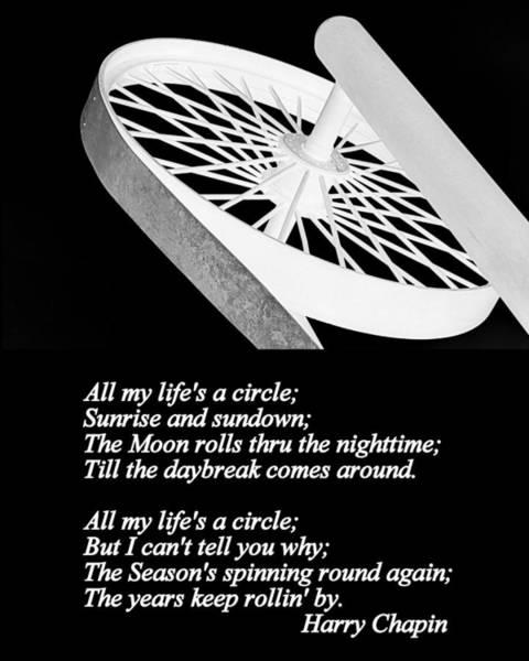 Photograph - Circle Of Life by AJ  Schibig
