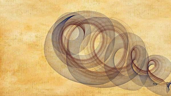 Mixed Media - Circle Of Life by Marian Palucci-Lonzetta