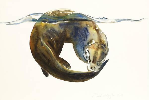 Predator Painting - Circle Of Life by Mark Adlington