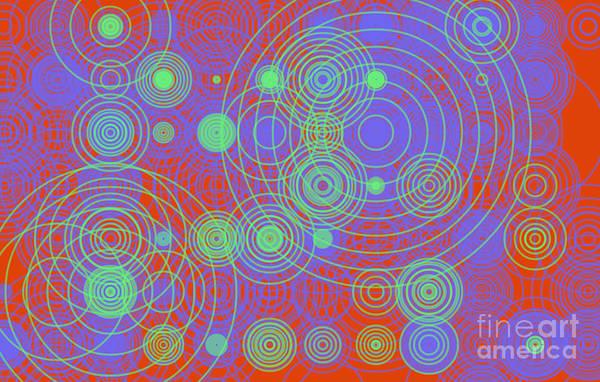 Digital Art - Circle Of Love  II by Ilona Svetluska