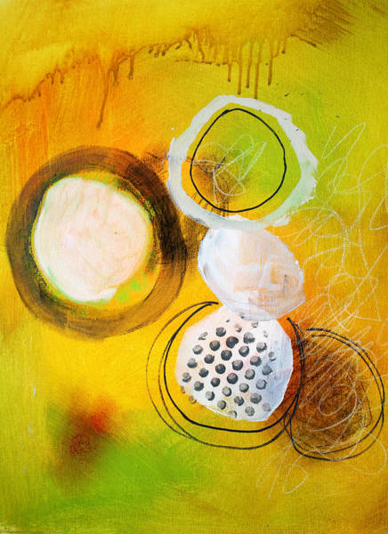 Orb Painting - Circles by Nancy Merkle