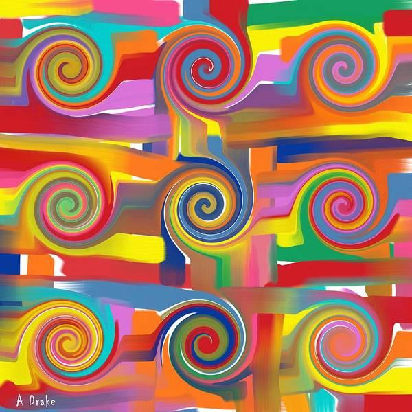 Digital Art - Circles Of Life by Alec Drake