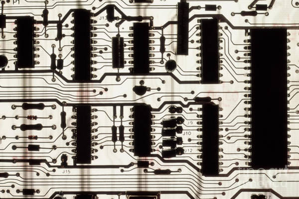 Photograph - Circuit Board by Phillip Hayson