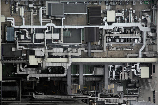 Pipes Photograph - Circuit by Koji Tajima