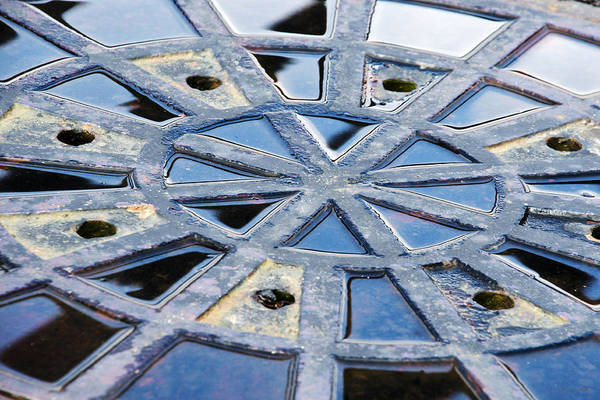 Photograph - Metal Abstract Art by Christina Rollo