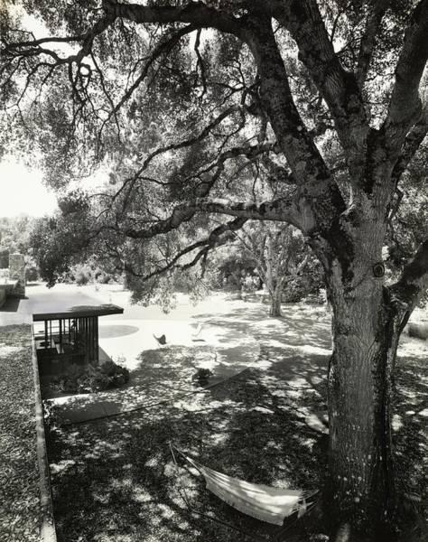 Lawrence Photograph - Circular Masonry Terrace by Ernest Braun