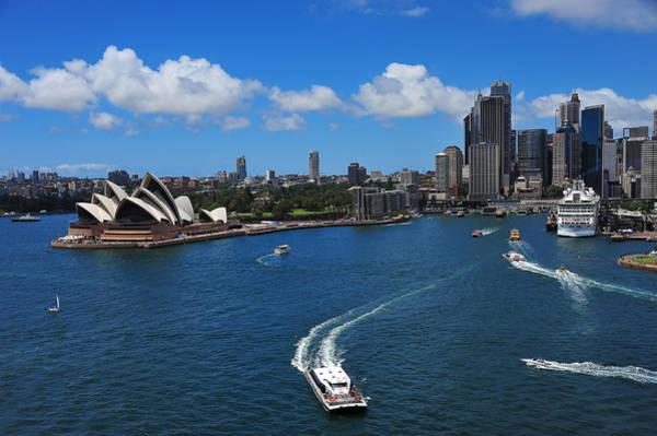 Photograph - Circular Quay Sydney by Harry Spitz