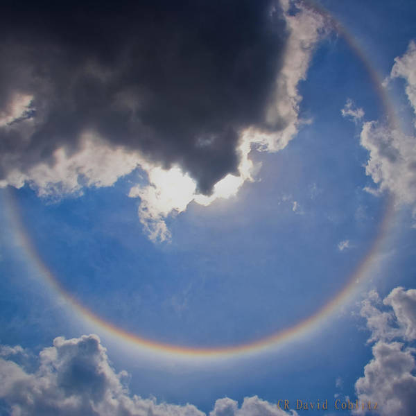Photograph - Circular Rainbow-large by David Coblitz