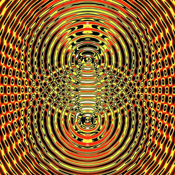 Trough Wall Art - Photograph - Circular Wave Interference by Russell Kightley