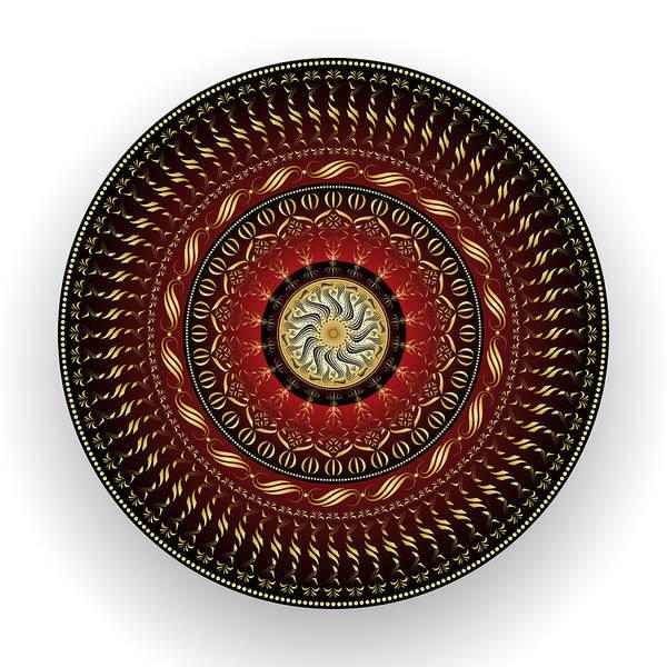 Digital Art - Circularity No. 1537 by Alan Bennington
