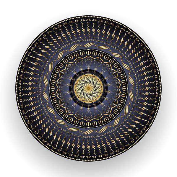 Digital Art - Circularity No. 1538 by Alan Bennington