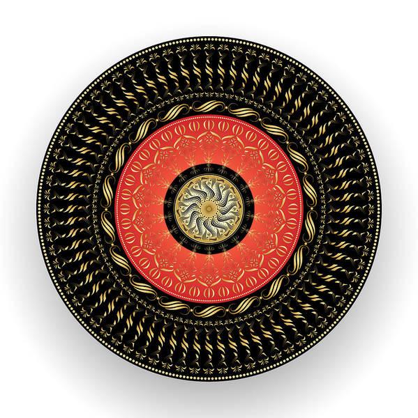 Digital Art - Circularity No. 1539 by Alan Bennington