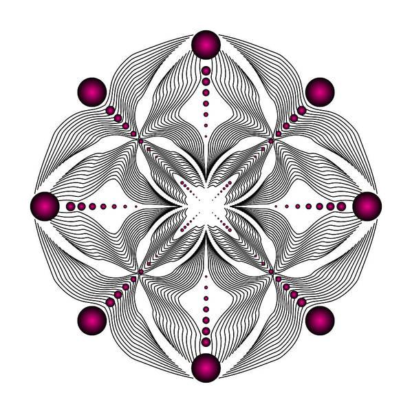 Digital Art - Circularity No. 407 by Alan Bennington