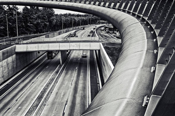 Traffic Wall Art - Photograph - Circulation by Piet Flour