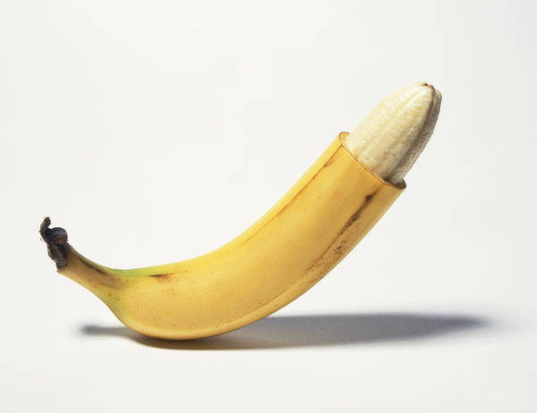 Circumcised Banana Art Print by Stuartpitkin