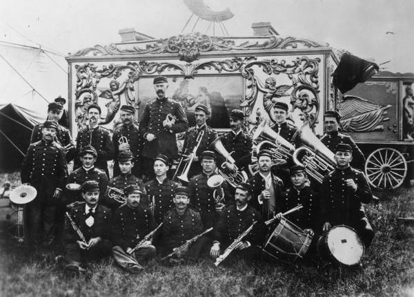 Photograph - Circus Band, 1900 by Granger