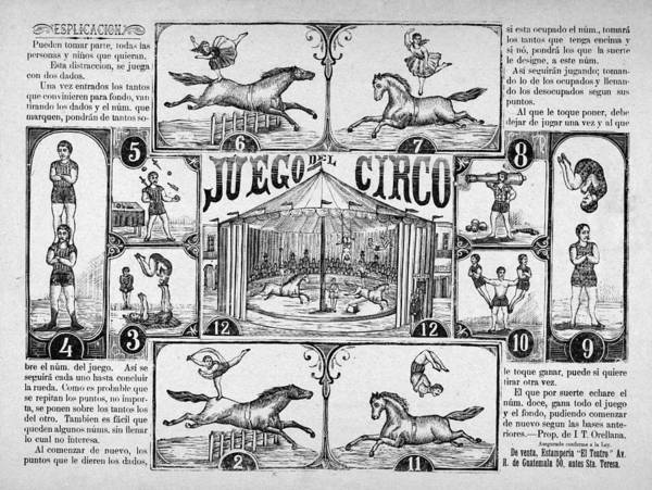 Wall Art - Painting - Circus Game, C1910 by Granger