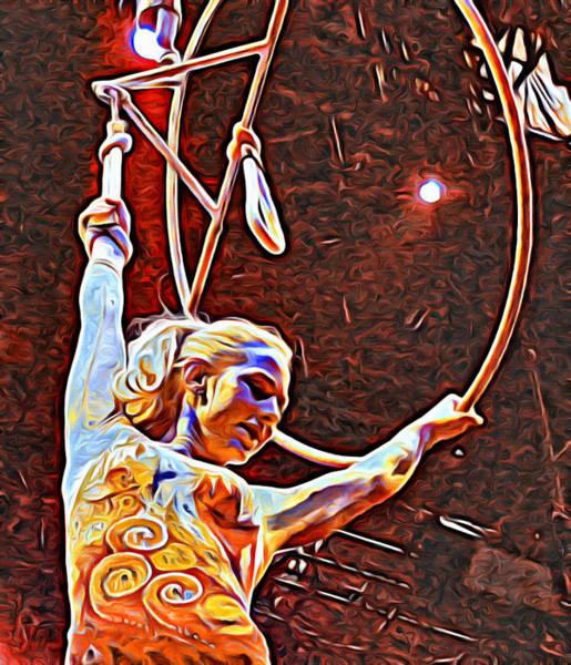 Photograph - Circus Performer by Alice Gipson