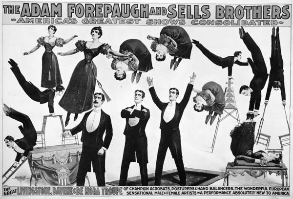 Wall Art - Painting - Circus Poster, 1898 by Granger