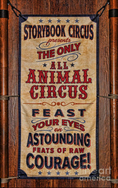 Wall Art - Photograph - Circus Poster by Lee Dos Santos