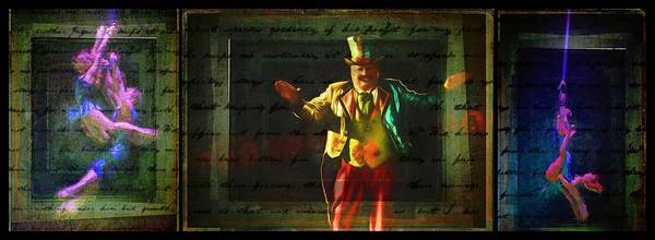 Photograph - Circus Triptych  by Alice Gipson