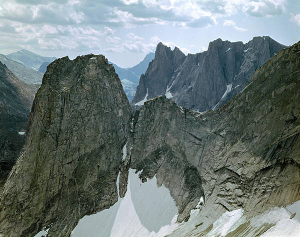209615-cirque Of Towers, Wind Rivers, Wy Art Print