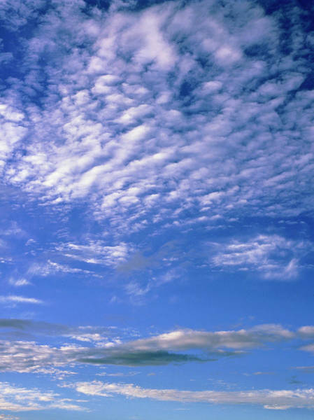 Wall Art - Photograph - Cirrocumulus And Stratocumulus Clouds by Simon Fraser/science Photo Library