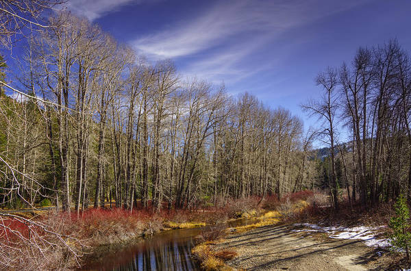 Yuba River Photograph - Cisco Grove In Early Winter by Janis Knight
