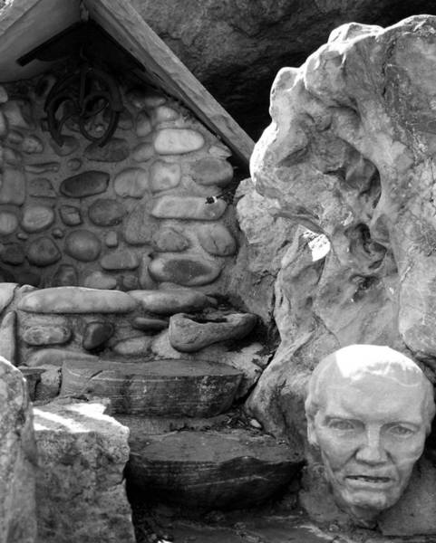 Photograph - Pink Quartzite Head At The Cistern by Tarey Potter