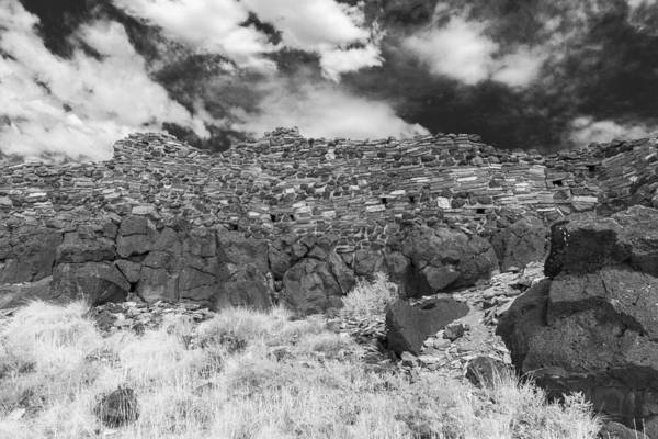 Photograph - Citadel Pueblo West Wall by Chris Bordeleau
