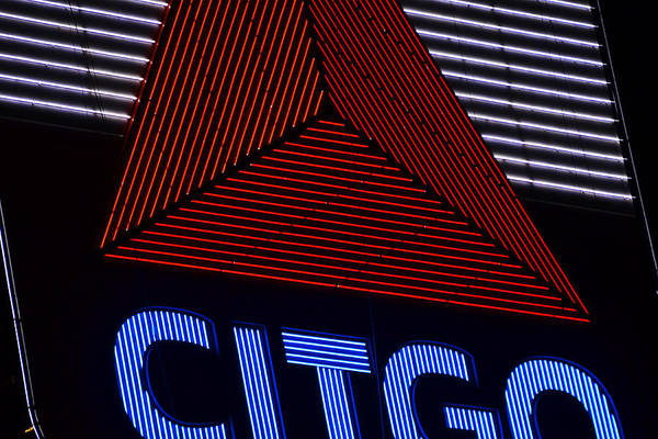 Photograph - Citgo Sign Closeup Boston Ma by Toby McGuire