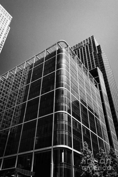 Financial Centre Photograph - citigroup centre 33 and 25 canada square canary wharf London England UK by Joe Fox
