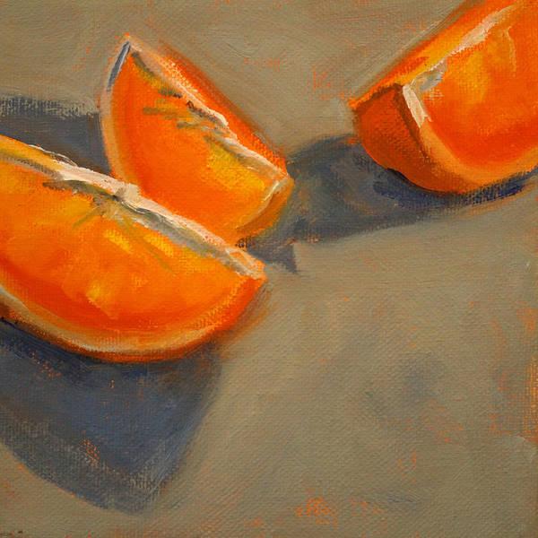 Wall Art - Painting - Citrus Meetup by Nancy Merkle