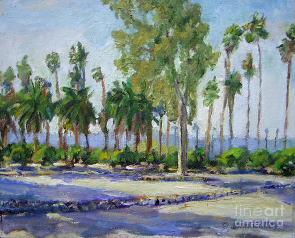 Painting - Citrus Park View by Joan Coffey
