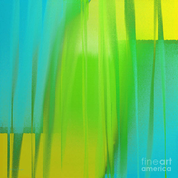 Slice Digital Art - Citrus Slices Abstract 2 by Andee Design