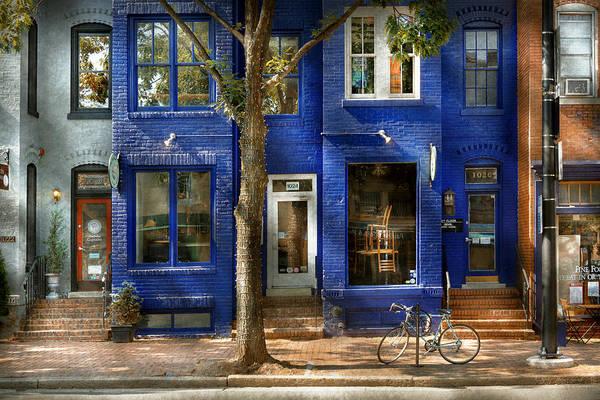 Photograph - City - Alexandria Va -  Bike - The Urbs by Mike Savad