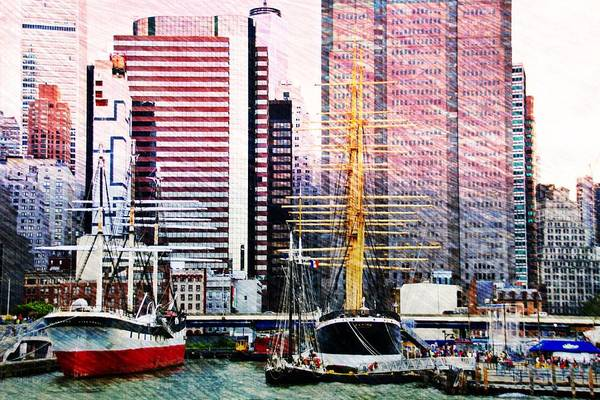 Photograph - City And Water by Alice Gipson