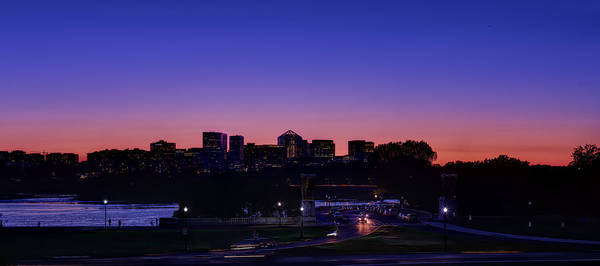 Photograph - City At The Edge Of Night by Metro DC Photography