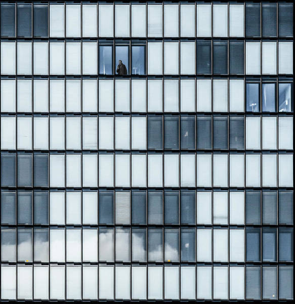Wall Art - Photograph - City Blues by Luc Vangindertael (lagrange)