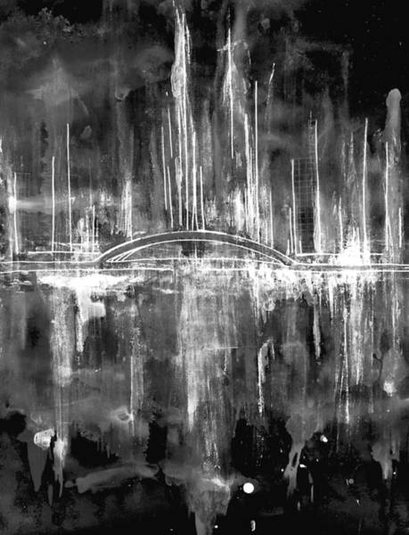 Painting - City By The Sea Viii by Giorgio Tuscani