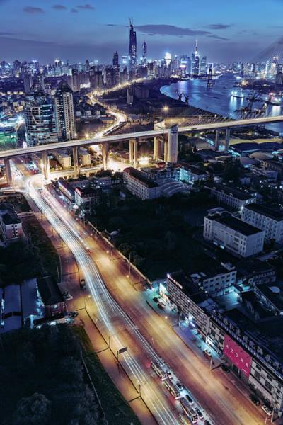 Rush Hour Photograph - City Cadenza by Blackstation