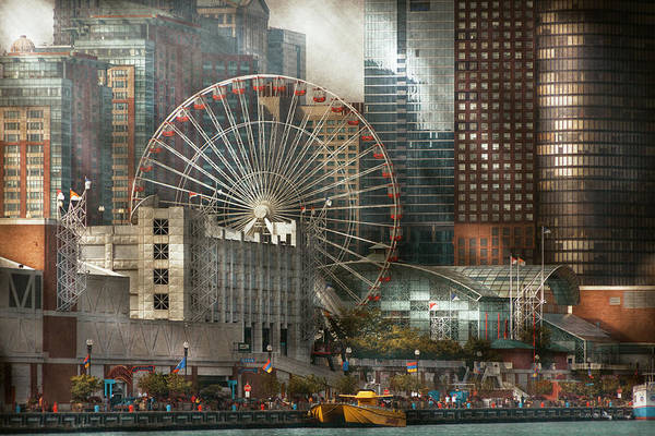 Wall Art - Photograph - City - Chicago Il - Pier Pressure by Mike Savad