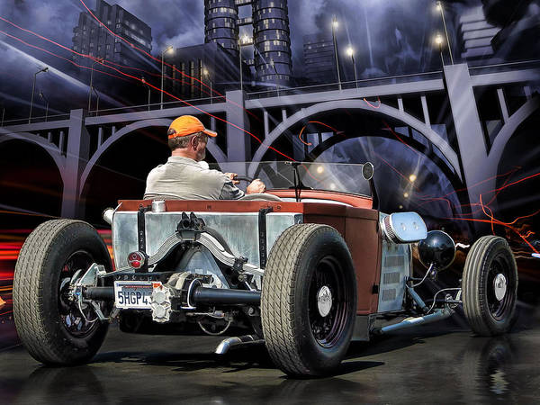 Hot Rod Digital Art - City Dweller .... by Rat Rod Studios
