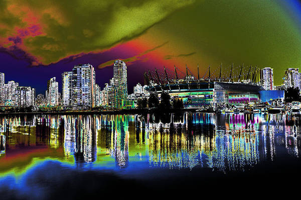 Photograph - City Fantasy by Lawrence Christopher